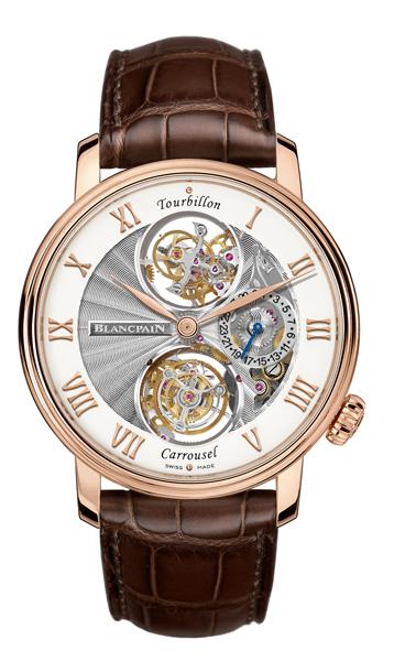 reloj caro BLANCPAIN LE BRASSUS TOURBILLON CARROUSEL