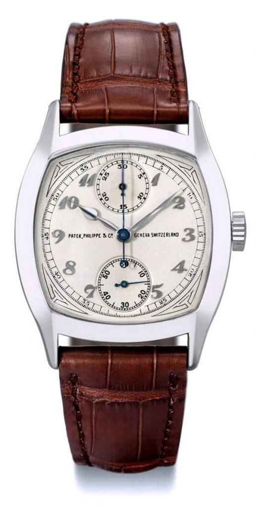 reloj precioso PATEK PHILIPPE 1928 CRONÓGRAFO DE UN SOLO BOTÓN