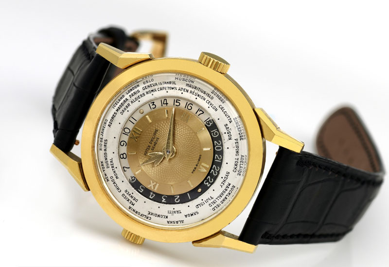 relojes invaluables PATEK PHILIPPE 1953 MODELO 2523 HEURES UNIVERSELLES