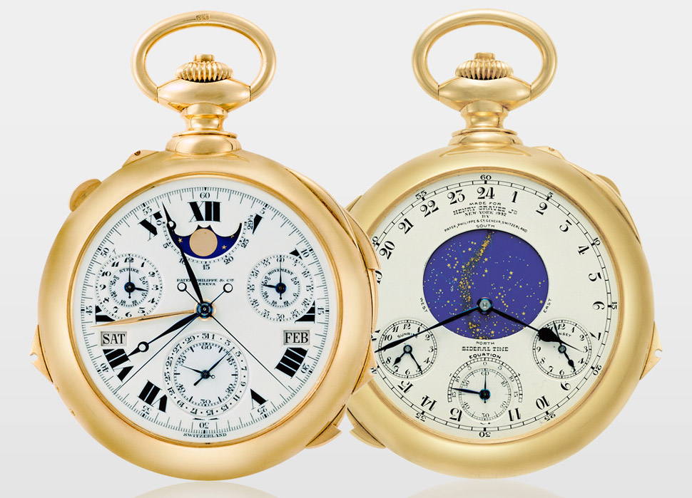 caro reloj Patek Philippe Supercomplication