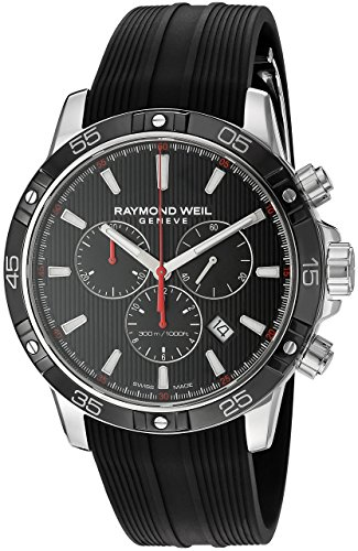 Reloj Hombre Raymond Weil 8560-SR1-20001 correa caucho