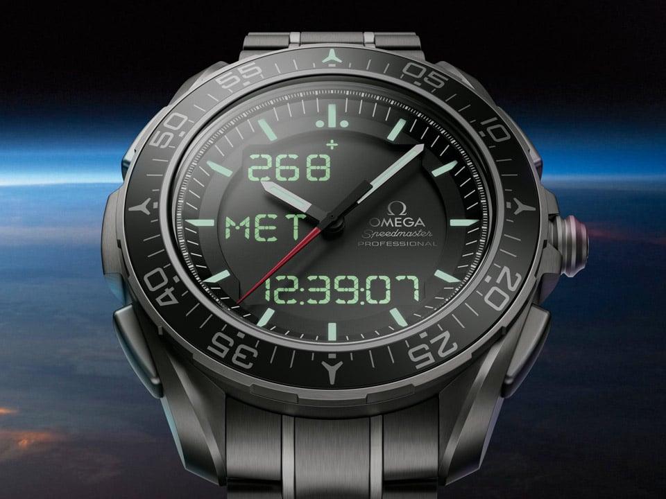 relojes de pulsera de lujo Omega SkyWalker X-33