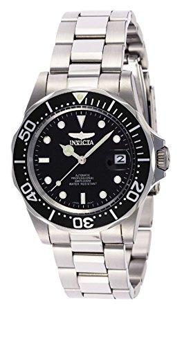 relojes más vendidos Reloj de pulsera analógico para hombre Invicta Pro Diver con correa de acero inoxidable