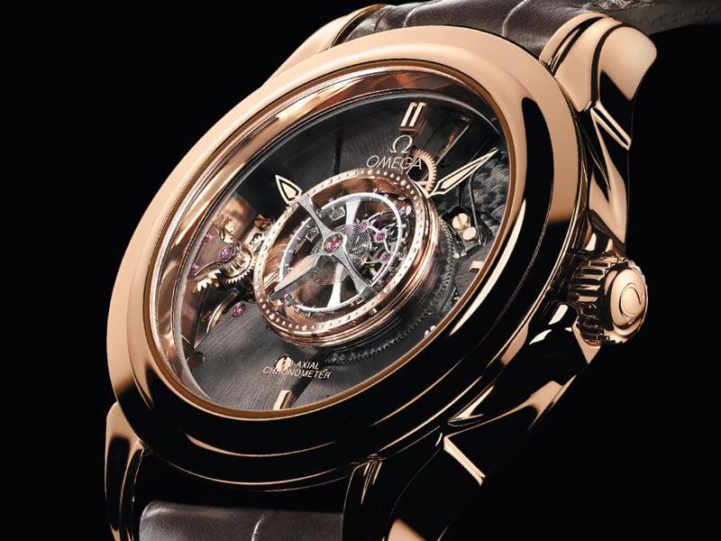 relojes omega especiales De Ville Tourbillon