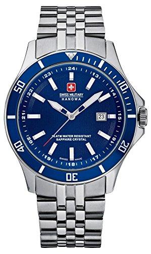 Swiss Military Hanowa Flagship relojes de pulsera de acero inoxidable para hombre