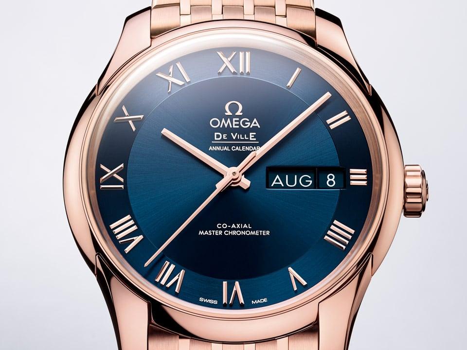 Reloj de pulsera elegante Omega De Ville Hour Vision