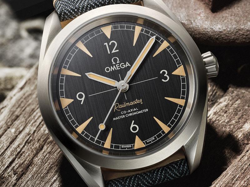 Reloj de lujo Seamaster Railmaster