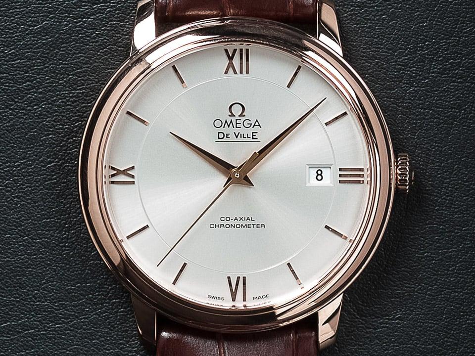 Reloj de lujo clásico de Ville Prestige