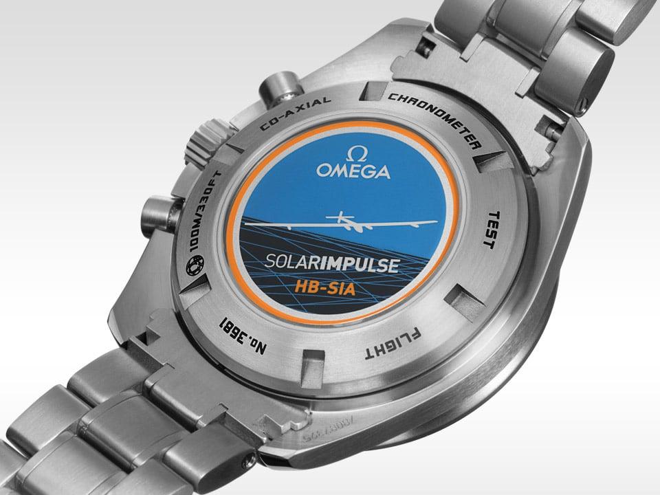 reloj de lujo omega Solar Impulse HB-SIA