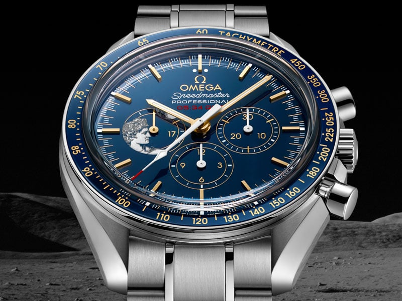 reloj de lujo omega speedmaster smoonwatch apollo17