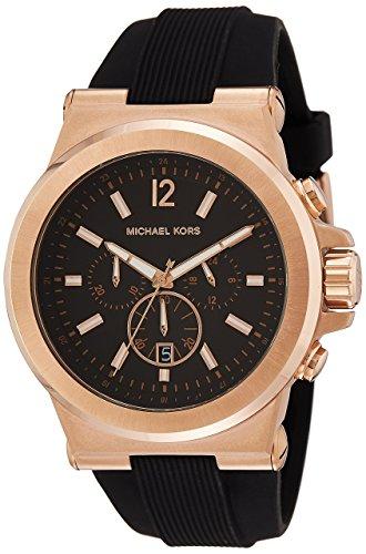 reloj de hombre con correa de caucho Michael Kors - Dylan