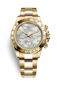 Rolex Daytona Mother of Pearl Gold Dial 116508-0007