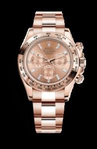 Rolex Daytona rosa con movimiento 4130 116505-0006