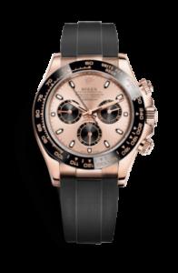 Rolex Daytona rosa y negro 116515ln-0013