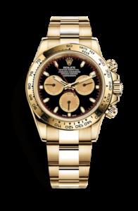 Rolex Daytona manecillas rojas y doradas 116508-0009
