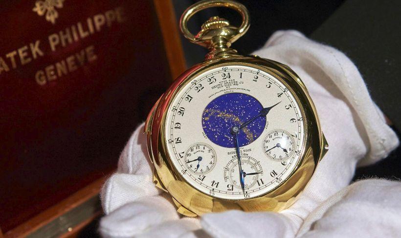 El reloj de bolsillo más caro: Patek Philippe Henry Graves Supercomplicación