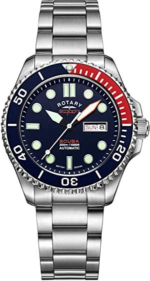 Reloj rotativo de fabricación suiza S7S004B Super 7