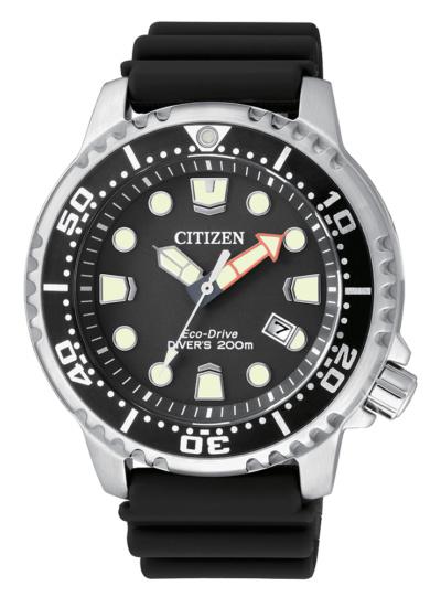 Correa de caucho Citizen Promaster Diver Eco Drive BN0150-10E