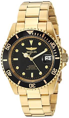 reloj de oro invicta