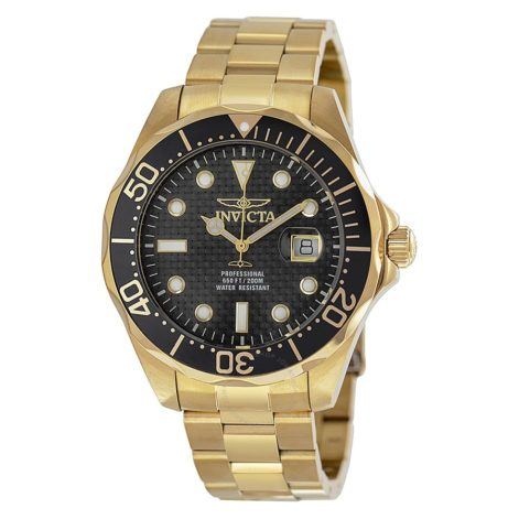 Reloj Invicta bañado en oro