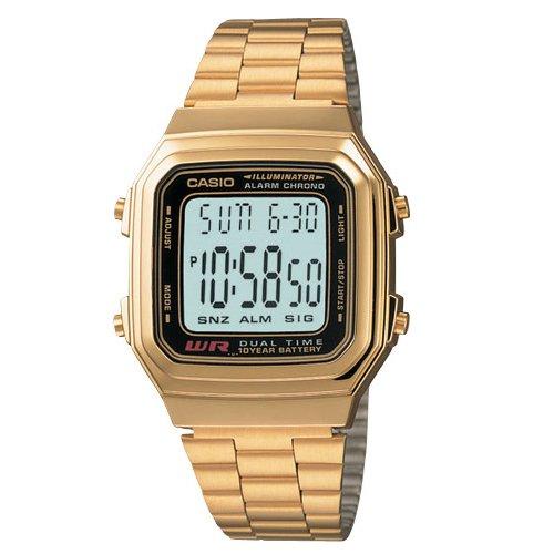 gran reloj casio de oro