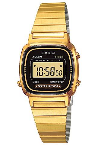 reloj casio dorado niña LA670WEGA-1EF