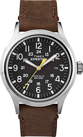 Reloj con correa de piel por menos de 100 euros