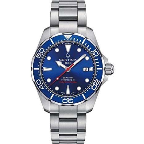 Relojes suizos por menos de 1000 euros - Certina DS Action Diver Powermatic 80
