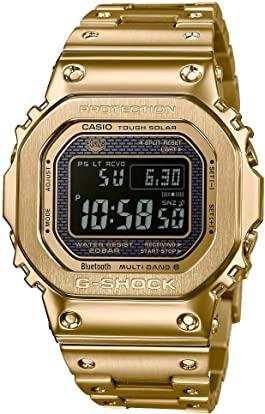 Casio g shock dorado