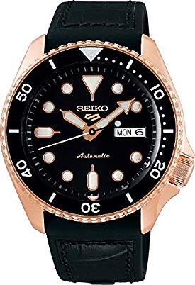 Seiko 5 Sports Specialist srpd76k1 - Caja color oro rosa