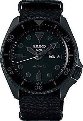 Seiko 5 Sports Street srpd79k1 - PVD negro