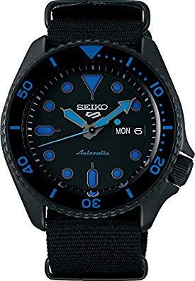 Seiko 5 Sports Street srpd81k1 - Azul con correa NATO