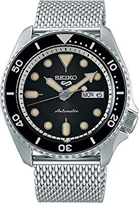Seiko 5 srpd73k1 - Smoke Black