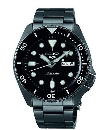 Seiko 5 Sports srpd65k1 - Negro Mate