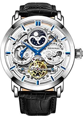 reloj esqueleto automático para hombre