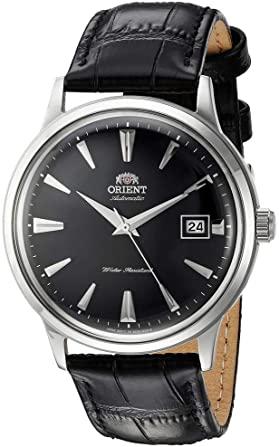 elegante reloj de cuero para hombre