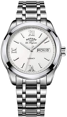 elegante reloj de hombre moderno