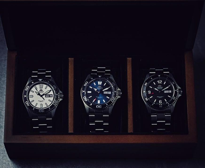 relojes Orient mako