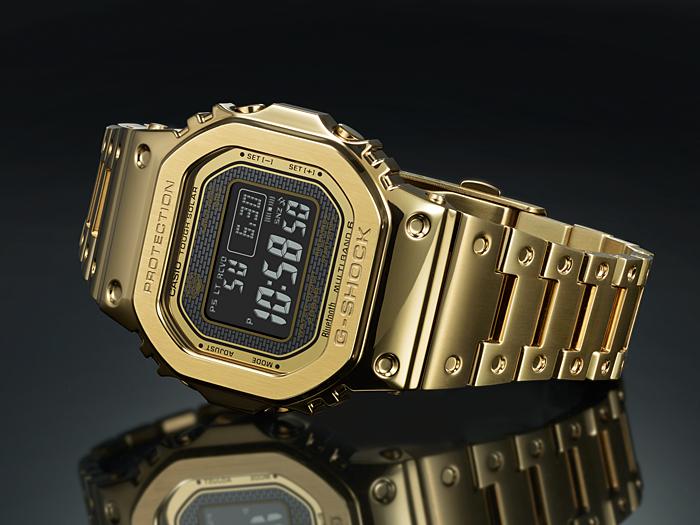 relojes casio-oro dorado